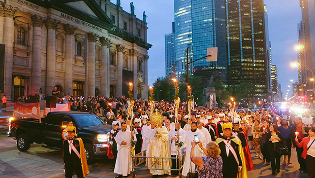 Euch Procession Quebec